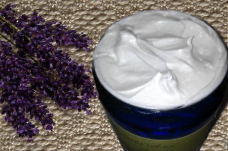 DIY Coconut Oil Lavender Body Butter