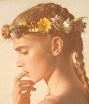 An Autumn Flower Crown