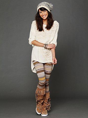 Free People Sweater Leggings