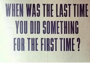 When was the last time