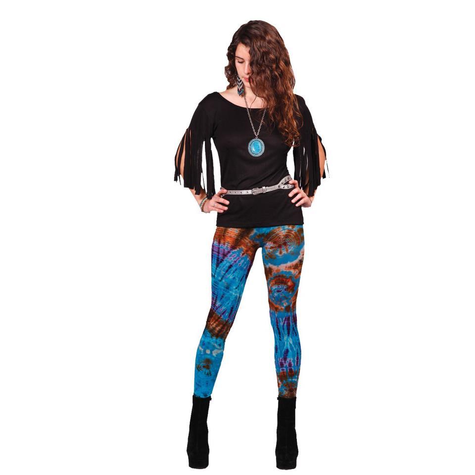 Jayli Mudmee Tie Dye Leggings