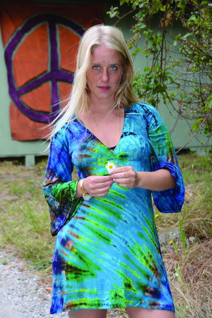 Mumdee Tie Dye Dress