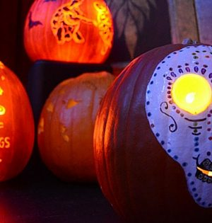 15 Awesome Hippie Halloween Pumpkins