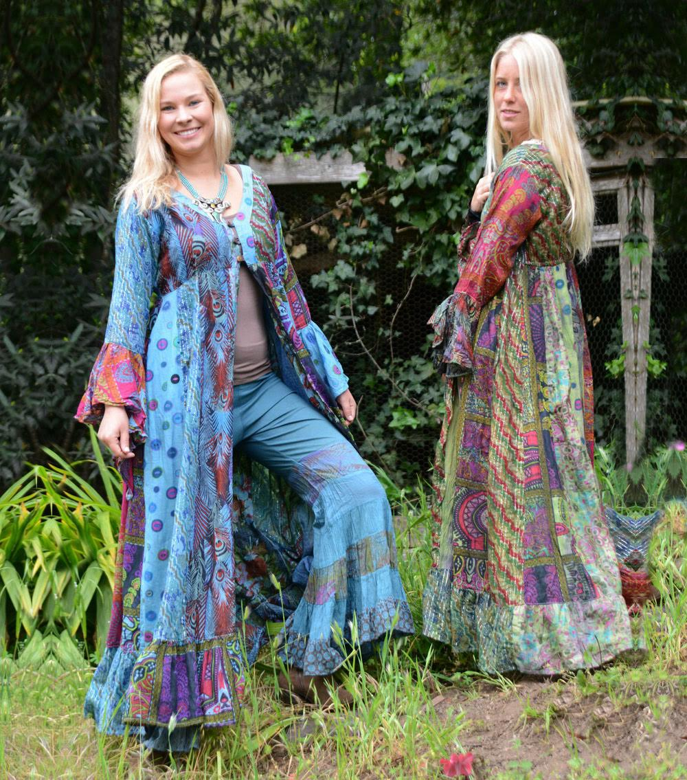 Gypsy Patchwork Pants and Gypsy Patchwork Coat