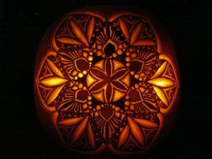 Mandala Pumpkin Carving