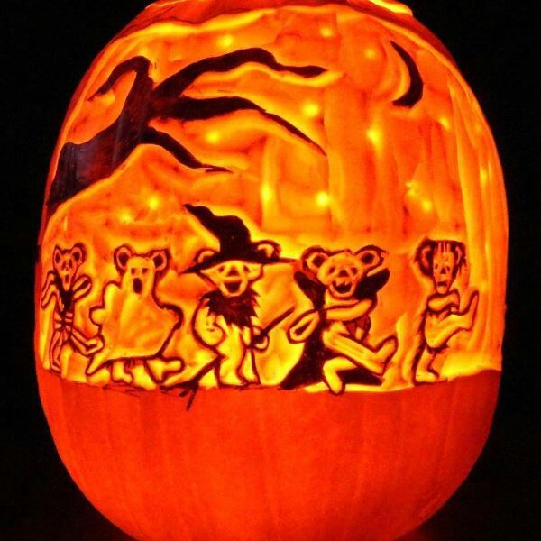 15 Creative Hippie Halloween Pumpkins Go Hippie Chic