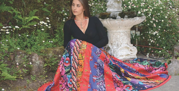 A Gypsy Patchwork Skirt For All Seasons