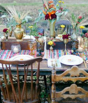 Beautiful Bohemian Table Settings To Feast Upon
