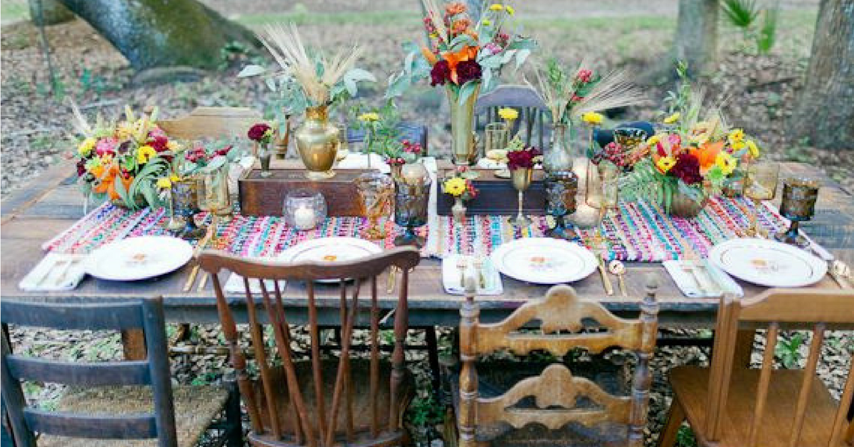 Beautiful Bohemian Table Settings To Feast Upon | Go Hippie Chic