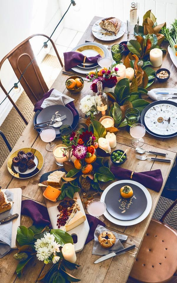 Beautiful Bohemian Table Setting & Beautiful Bohemian Table Settings To Feast Upon | Go Hippie Chic