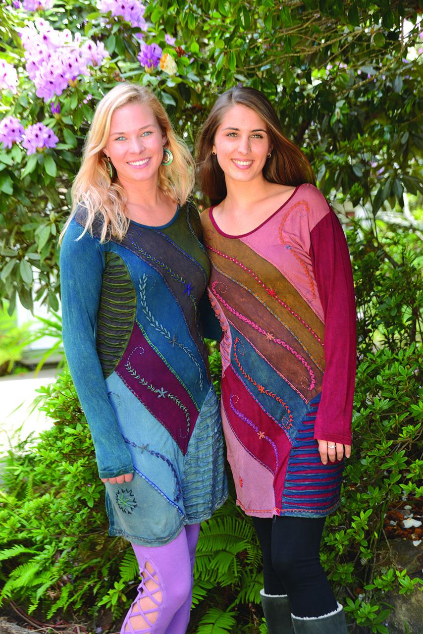 Jayli Viscose Patchwork Dress