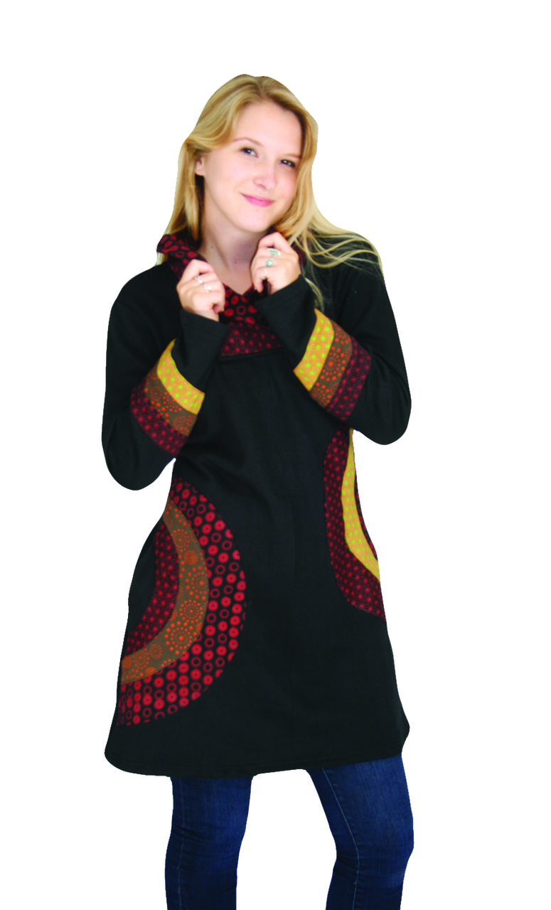 Jayli Fleece Lined Tunic