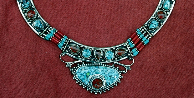 Hand crafted jewelry by Tibetan Artisans