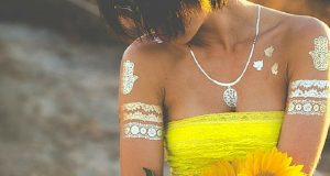 Metallic Tattoos That Will Make You Shimmer And Shine
