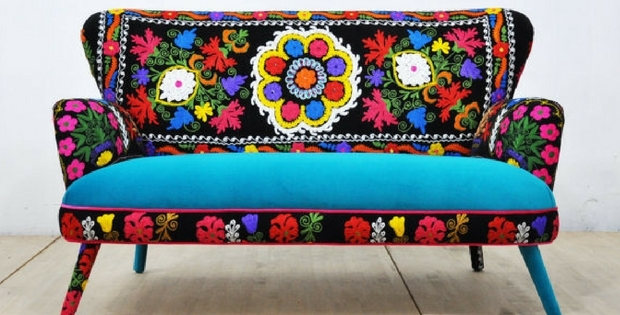 Handmade Bohemian Armchairs And Sofas