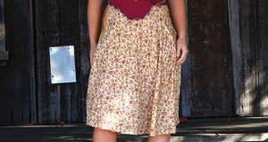 A Sweet Spring Skirt