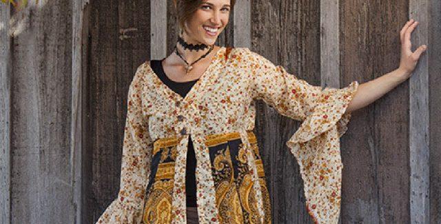 Jayli's Gypsy Jacket In Silk