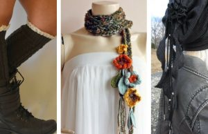 winter bohemian accessories - cozy and comfy