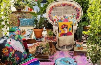 Bohemian Outdoor Spaces