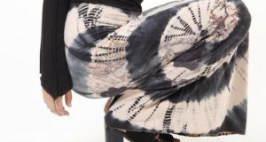 A Gorgeous Maxi Skirt_ A Goddess and Tie Dye