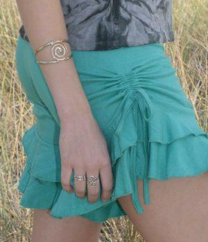 Ruffles and cinches make sweet summer shorts