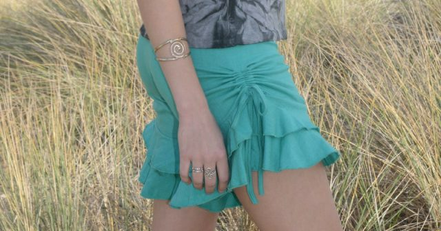 Ruffles and cinches make sweet summer shorts
