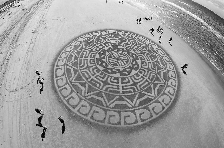 beach drawings