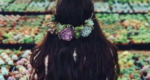 These Succulent Flower Crowns Will Make You Feel Like An Earth Goddess