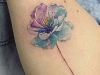 These Watercolor Tattoos are Delicate and Beautifully Perfect