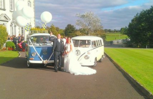 Vintage Weddings in Ireland are Lit Because of these Classic Volkswagen Vehicles