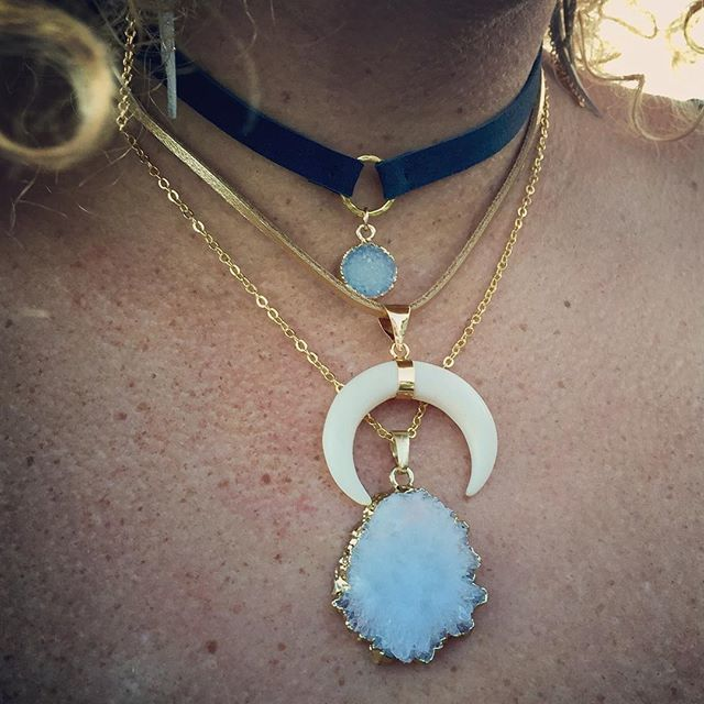 Presh Bohemian Layered Necklaces
