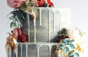 10 Bohemian Wedding Cakes That Are Perfect for a Dreamy Boho Wedding