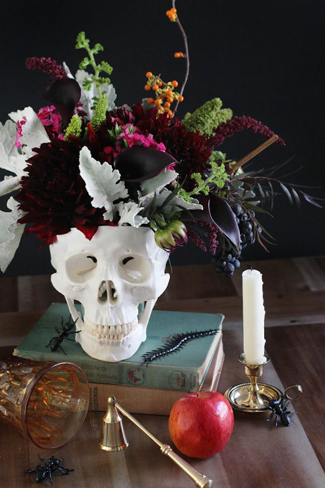 Halloween Dinner Table Setting.These Halloween Table Setting Ideas Will Complete Your