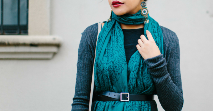 10+ Stylish Ways to Wear a Scarf Perfect for the Cooler Seasons