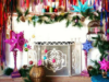 These Bohemian Inspired Christmas Fireplace Decoration Ideas Make the Season Merrier!
