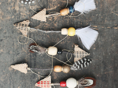 These Rustic Ornaments Are Every Hippie Chick's Needs for a Boho Christmas Tree