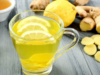 Detoxify and Lose Weight with Ginger and Lemon Tea